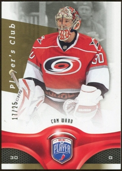 2009/10 Upper Deck Be A Player Player's Club #180 Cam Ward /25