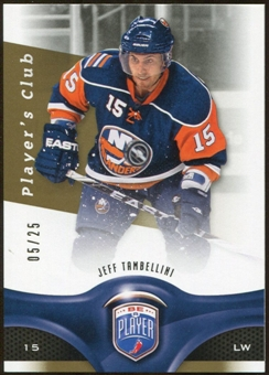 2009/10 Upper Deck Be A Player Player's Club #198 Jeff Tambellini 5/25