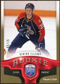2009/10 Upper Deck Be A Player Player's Club #221 Keaton Ellerby /15