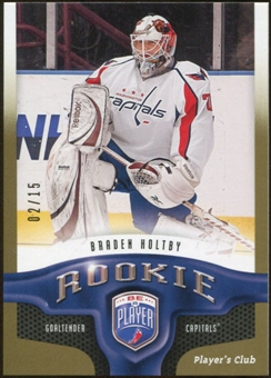 2009/10 Upper Deck Be A Player Player's Club #229 Braden Holtby 2/15