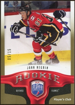 2009/10 Upper Deck Be A Player Player's Club #251 John Negrin 5/15