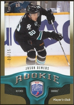 2009/10 Upper Deck Be A Player Player's Club #273 Jason Demers 9/15