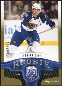 2009/10 Upper Deck Be A Player Player's Club #275 Evander Kane RC 15/15