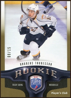 2009/10 Upper Deck Be A Player Player's Club #282 Andreas Thuresson 8/15