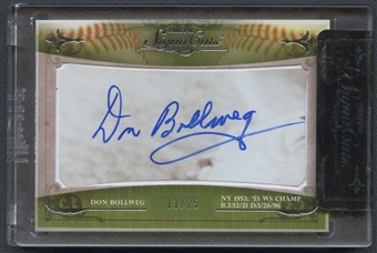 2010 TriStar SignaCuts Don Bollweg Cut Auto #11/25