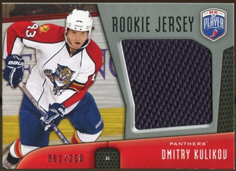 2009/10 Upper Deck Be A Player Rookie Jerseys #RJDK Dmitry Kulikov /250