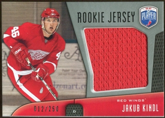 2009/10 Upper Deck Be A Player Rookie Jerseys #RJJK Jakub Kindl /250