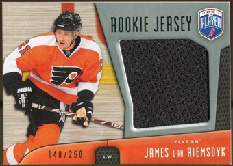 2009/10 Upper Deck Be A Player Rookie Jerseys #RJJV James van Riemsdyk /250