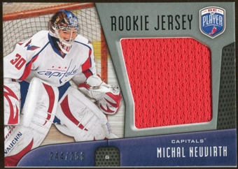 2009/10 Upper Deck Be A Player Rookie Jerseys #RJMN Michal Neuvirth /250
