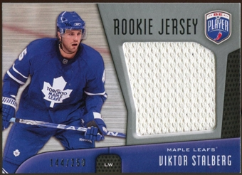 2009/10 Upper Deck Be A Player Rookie Jerseys #RJVS Viktor Stalberg /250