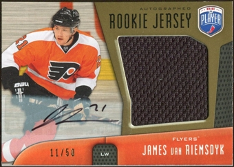 2009/10 Upper Deck Be A Player Rookie Jerseys Autographs #RJJV James van Riemsdyk Autograph 11/50