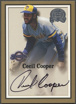 2000 Greats of the Game #22 Cecil Cooper Auto