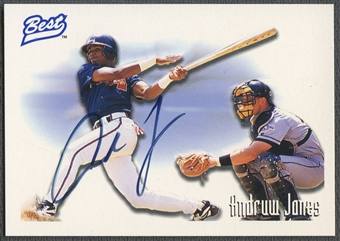 1995 Best #AU2 Andruw Jones Auto