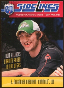 2009/10 Upper Deck Be A Player Sidelines #S1 Alexander Ovechkin