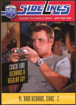 2009/10 Upper Deck Be A Player Sidelines #S3 Brad Richards