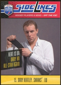 2009/10 Upper Deck Be A Player Sidelines #S7 Dany Heatley
