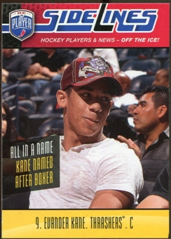 2009/10 Upper Deck Be A Player Sidelines #S12 Evander Kane