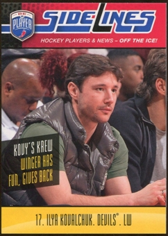 2009/10 Upper Deck Be A Player Sidelines #S17 Ilya Kovalchuk