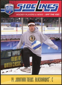 2009/10 Upper Deck Be A Player Sidelines #S25 Jonathan Toews