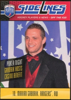 2009/10 Upper Deck Be A Player Sidelines #S27 Marian Gaborik
