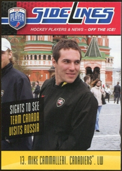 2009/10 Upper Deck Be A Player Sidelines #S32 Mike Cammalleri