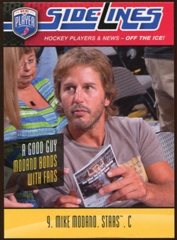 2009/10 Upper Deck Be A Player Sidelines #S34 Mike Modano