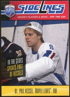 2009/10 Upper Deck Be A Player Sidelines #S44 Phil Kessel