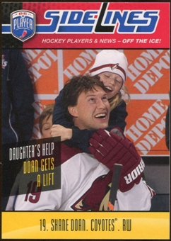2009/10 Upper Deck Be A Player Sidelines #S52 Shane Doan