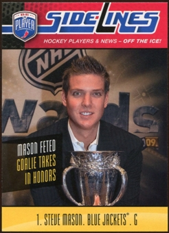 2009/10 Upper Deck Be A Player Sidelines #S55 Steve Mason