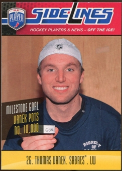 2009/10 Upper Deck Be A Player Sidelines #S57 Thomas Vanek