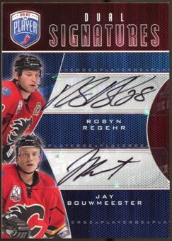 2009/10 Upper Deck Be A Player Signatures Duals #S2RB Robyn Regehr/Jay Bouwmeester Autograph