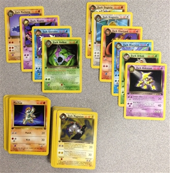 Pokemon Team Rocket 1st Edition Common and Uncommon Set
