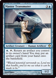 Magic the Gathering Archenemy Single Master Transmuter - NEAR MINT (NM)