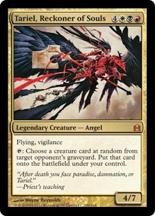 Magic the Gathering Commander Single Tariel, Reckoner of Souls - NEAR MINT (NM)