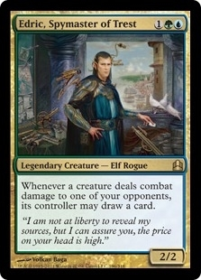Magic the Gathering Commander Single Edric, Spymaster of Trest - NEAR MINT (NM)