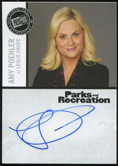2013 Press Pass Parks and Recreation Autographs #AP2 Amy Poehler Case Incentive