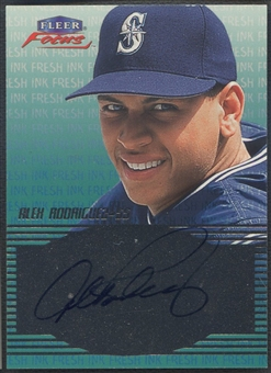 2000 Fleer Focus #42 Alex Rodriguez Fresh Ink Auto