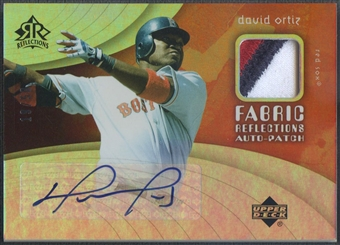 2005 Reflections #DO David Ortiz Fabric Patch Auto #19/50