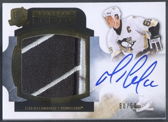2011/12 The Cup #LLML Mario Lemieux Limited Logos Patch Auto #50/50