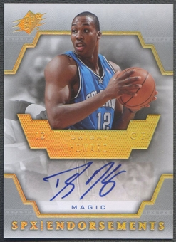 2007/08 SPx #DH Dwight Howard Endorsements Auto