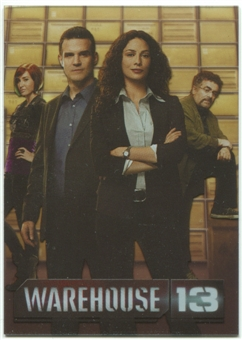 2013 Rittenhouse Warehouse 13 Season Four #BT1 Claudia Pete Myka Artie (issued as box topper)