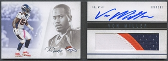 2011 Panini Playbook #136 Von Miller Rookie Platinum Patch Auto #15/25
