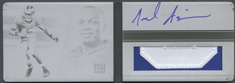 2011 Panini Playbook #117 Jerrel Jernigan Printing Plate Black Rookie Patch Auto #1/1