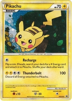 Pokemon Promo Single Pikachu HGSS03