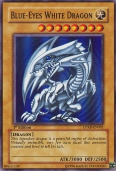 Yu-Gi-Oh Duelist Pack Kaiba Single Blue-Eyes White Dragon Super Rare DPKB