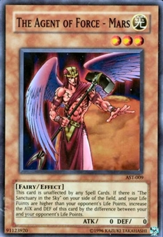 Yu-Gi-Oh Ancient Sanctuary Single The Agent of Force Mars Super Rare (AST-009