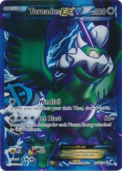Pokemon Plasma Freeze Single Tornadus EX 114/116