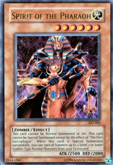 Yu-Gi-Oh Ancient Sanctuary Single Spirit of the Pharaoh Ultra Rare AST-062