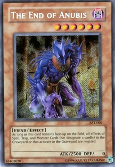 Yu-Gi-Oh Ancient Sanctuary Single The End of Anubis Secret Rare (AST-000)