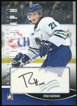 2012/13 In the Game ITG Heroes and Prospects Autographs #ARH Ryan Hartman Autograph